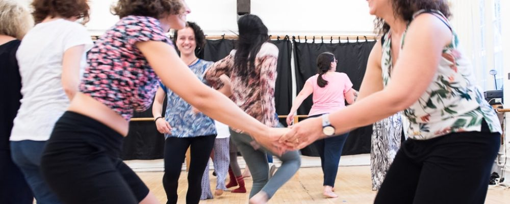A biodanza session in London