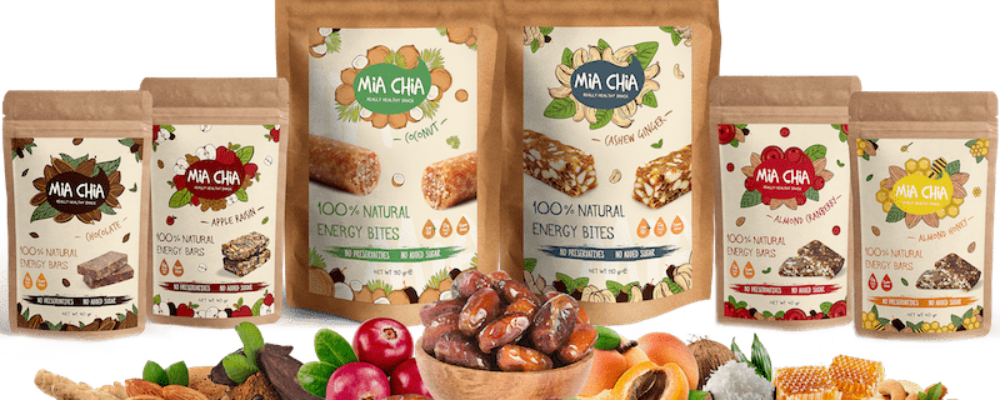 Mia Chia: Healthy snacks and a healthy career
